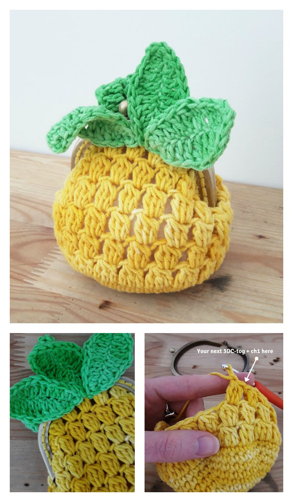 Pineapple Pattern Unique Pineapple Crochet Bag Pattern Wmperm for Of Amazing 47 Images Pineapple Pattern