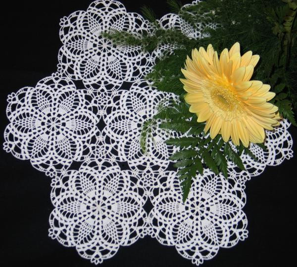 Perfect 41 Images Pineapple Tablecloth Crochet Pattern Free