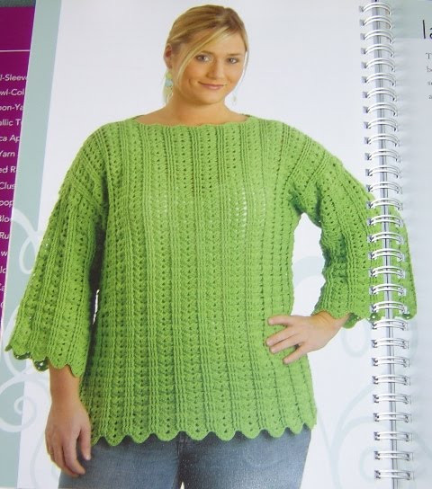 Enthusiastic crochetoholic Plus size Crochet Part Two
