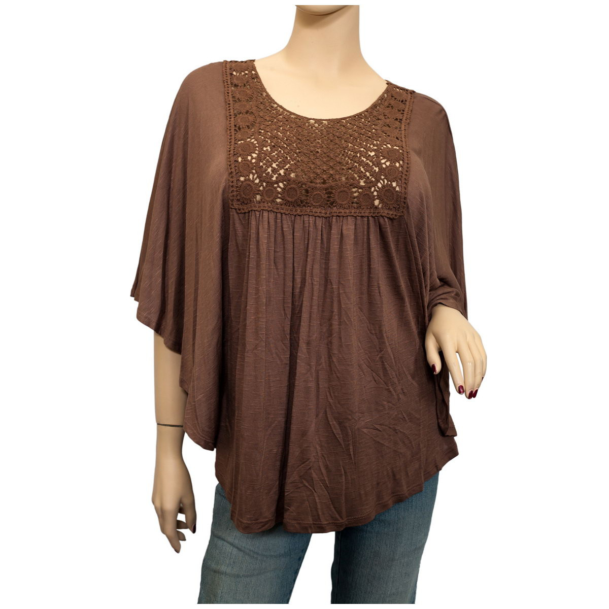 Plus Size Crochet Best Of Plus Size Crochet Poncho top Brown Of Gorgeous 50 Pictures Plus Size Crochet