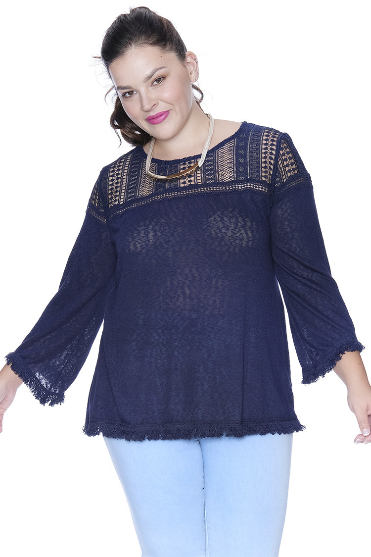 Plus Size Crochet Inspirational Plus Size Crochet Shoulder top tops Of Gorgeous 50 Pictures Plus Size Crochet