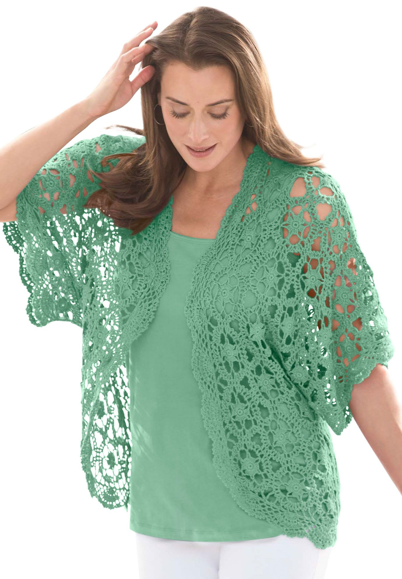 Plus Size Crochet New Shrug Cardigan In Crochet Plus Size Shrugs Of Gorgeous 50 Pictures Plus Size Crochet