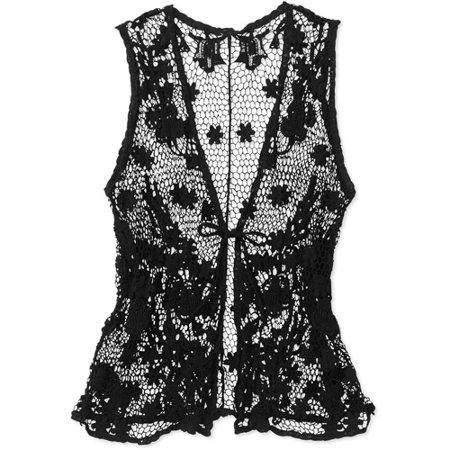 Plus Size Crochet Vest New Faded Glory Women S Plus Size Crochet Vest Walmart Of Fresh 49 Pics Plus Size Crochet Vest