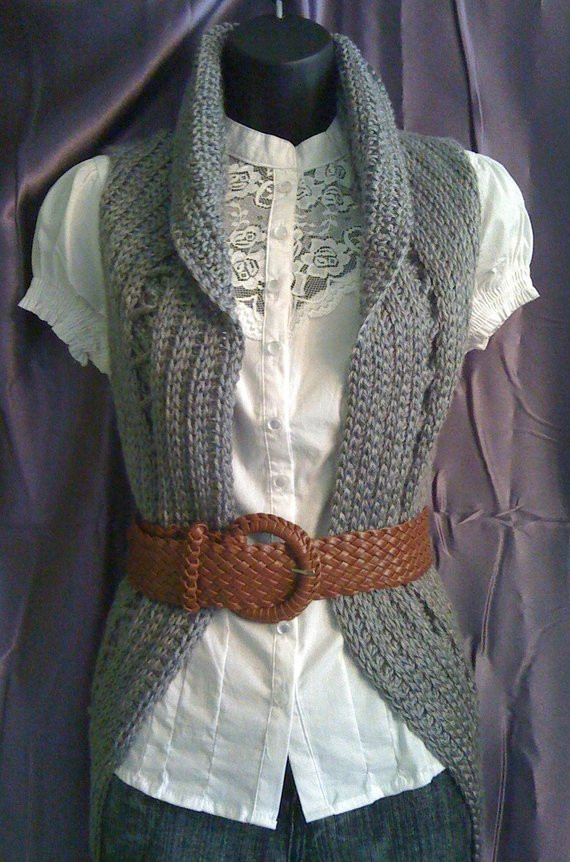 Plus Size Crochet Vest New Instant Download Pattern Crochet Vest Pattern Circular Of Fresh 49 Pics Plus Size Crochet Vest