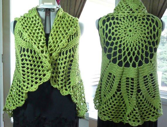 Plus Size Crochet Vest New Plus Size Crochet Circle Vest Crochet by Crazycrochetcatladys Of Fresh 49 Pics Plus Size Crochet Vest