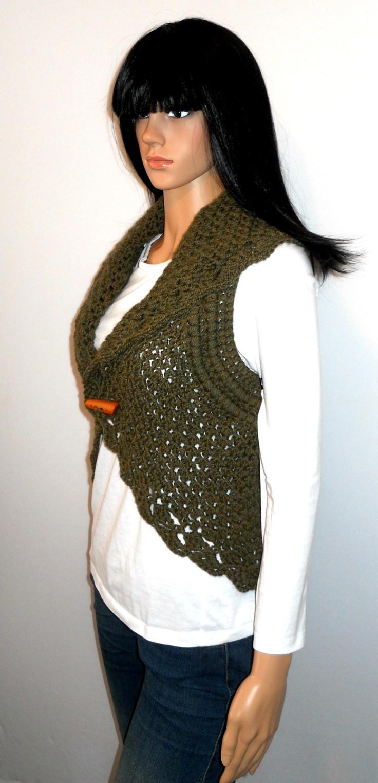 Plus Size Crochet Vest Unique 17 Best Images About Circular Crochet On Pinterest Of Fresh 49 Pics Plus Size Crochet Vest