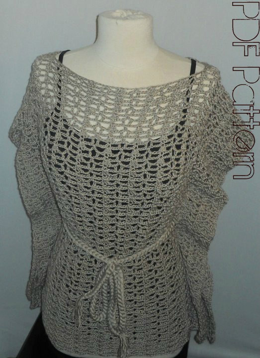 lace top crochet pattern
