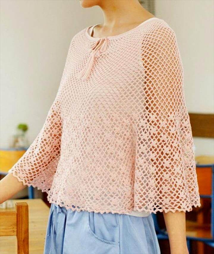 Poncho Crochet Pattern Awesome 24 Adorable Summer Poncho Free Crochet Design Of Attractive 42 Ideas Poncho Crochet Pattern