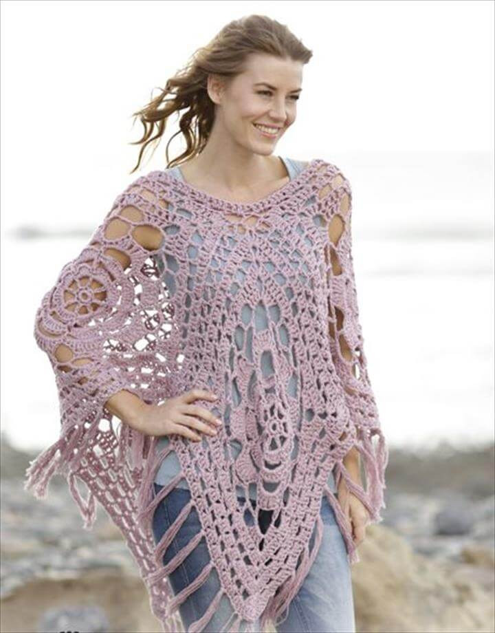 Poncho Crochet Pattern Fresh 24 Adorable Summer Poncho Free Crochet Design Of Attractive 42 Ideas Poncho Crochet Pattern