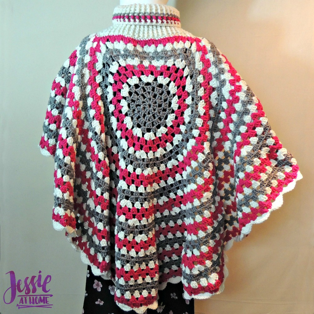 Poncho Crochet Pattern Fresh Circular Poncho Of Attractive 42 Ideas Poncho Crochet Pattern