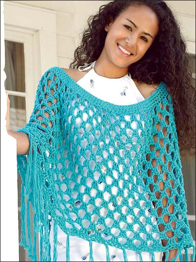 18 Crochet Poncho Patterns