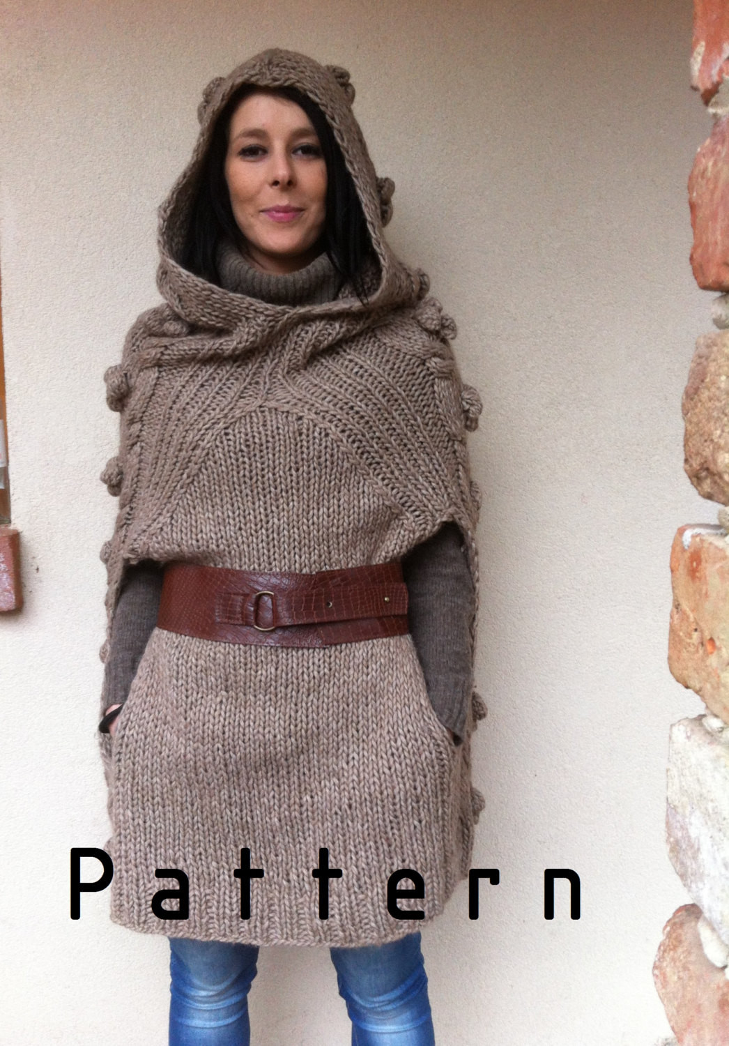 Poncho Knitting Patterns Beautiful Classic and Funny Poncho Knitting Pattern Supply Woman Of Poncho Knitting Patterns Fresh Click for Close Up Anything and Everything