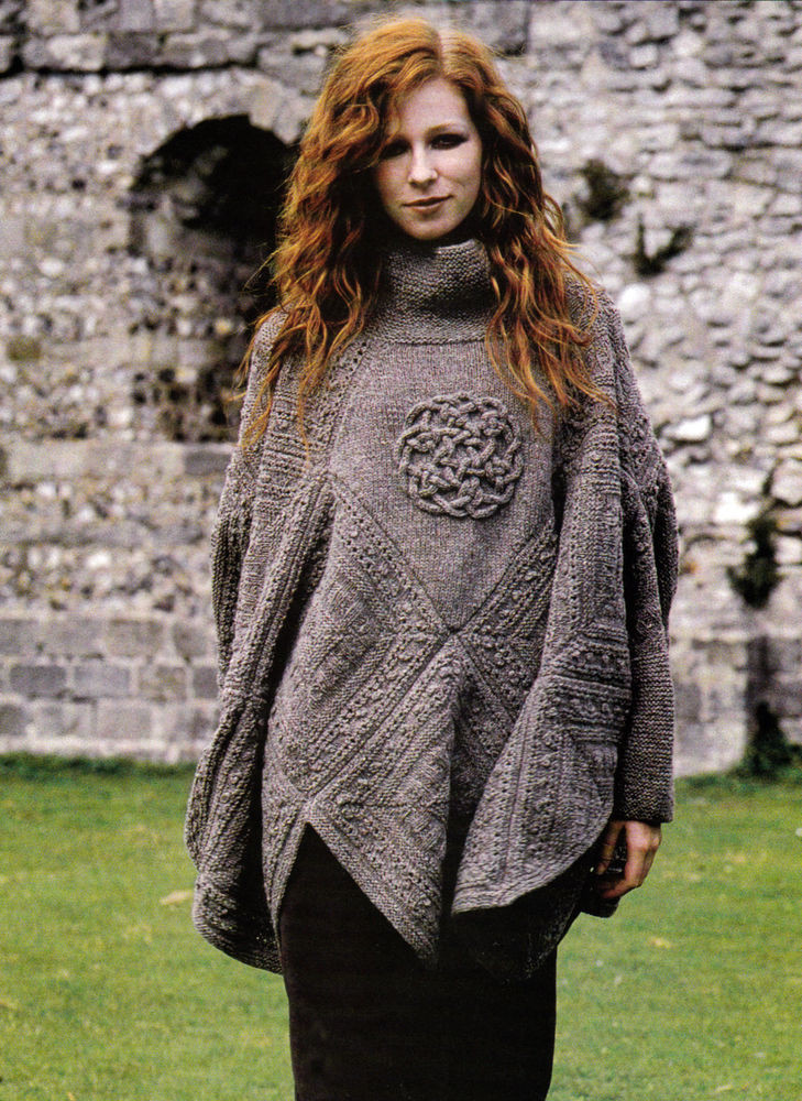 Poncho Knitting Patterns Best Of Knitting Pattern 9104 Lady S Poncho with Sleeves & Celtic Of Poncho Knitting Patterns Fresh Click for Close Up Anything and Everything