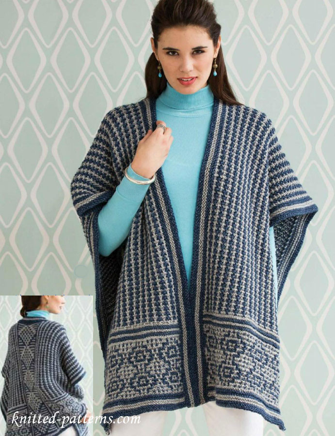 Poncho Knitting Patterns Elegant Poncho Knitting Pattern Free Of Poncho Knitting Patterns Fresh Click for Close Up Anything and Everything