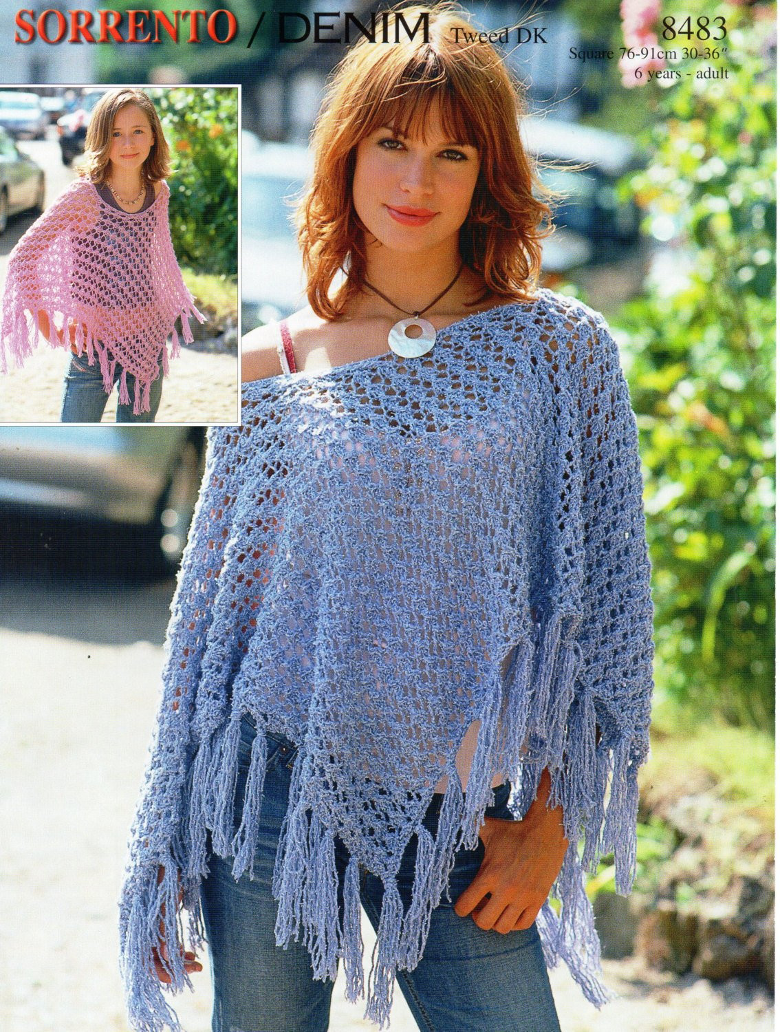 Poncho Knitting Patterns Lovely Womens Knitting Pattern Womens Poncho Girls Poncho La S Of Poncho Knitting Patterns Fresh Click for Close Up Anything and Everything
