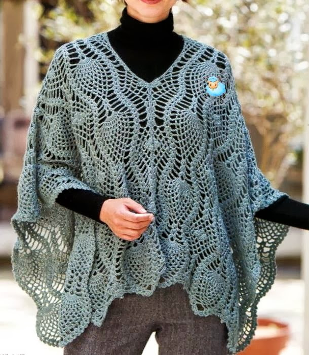 Ponchos A Crochet Inspirational Crochet Shawls Crochet Poncho Pattern sophisticated Of Fresh 46 Photos Ponchos A Crochet