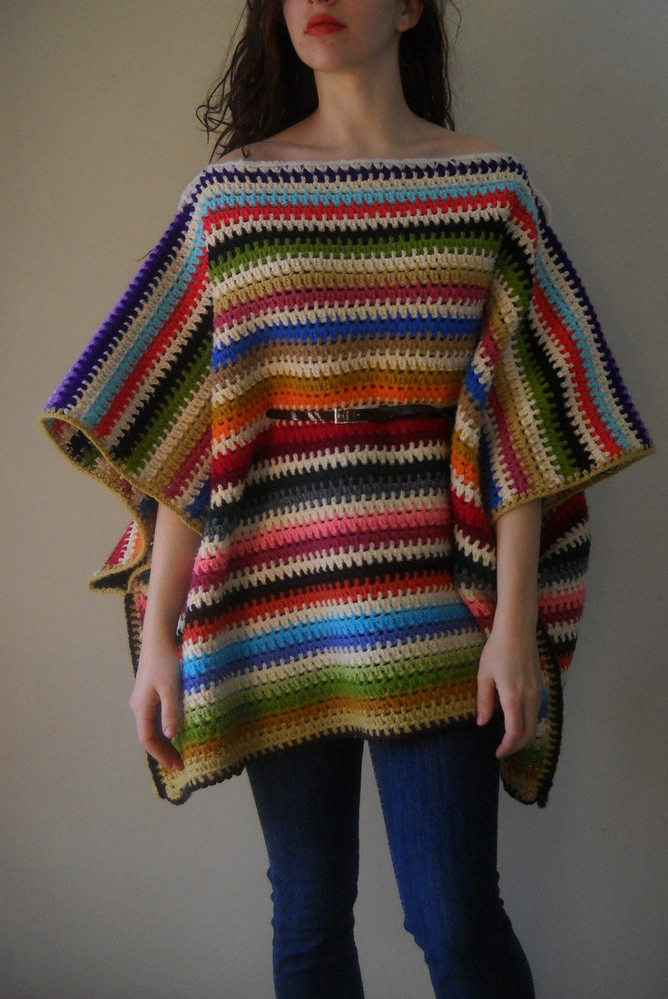 Ponchos A Crochet Luxury 123 Best Crochet Ponchos & Capes Images On Pinterest Of Fresh 46 Photos Ponchos A Crochet