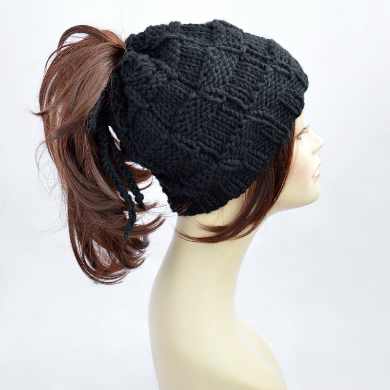 Ponytail Beanie Hat Best Of Best Knit Hat with Hole for Ponytail Of Amazing 48 Pictures Ponytail Beanie Hat