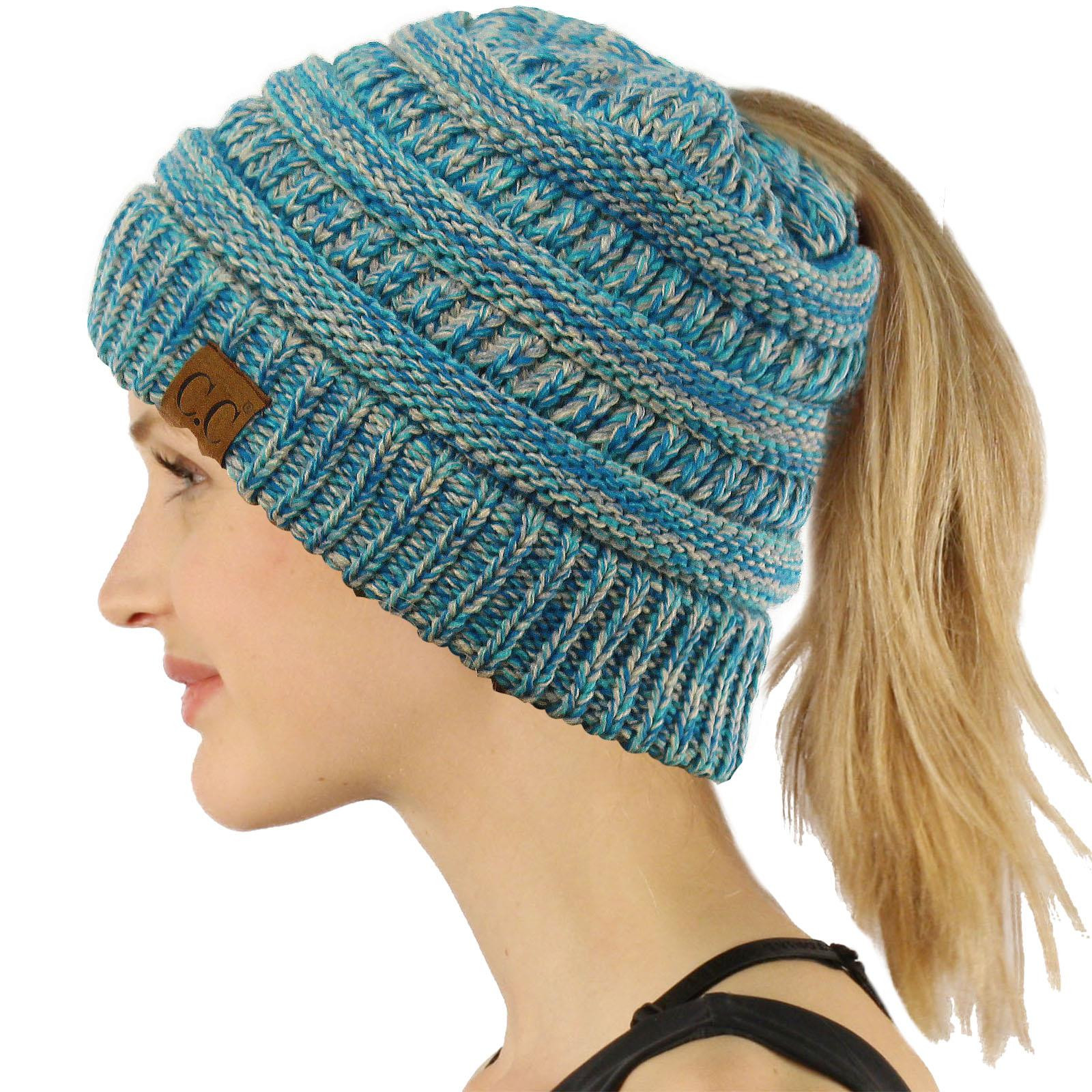 Ponytail Beanie Hat Inspirational Cc Beanietail Messy High Bun Ponytail Stretchy Knit Beanie Of Amazing 48 Pictures Ponytail Beanie Hat