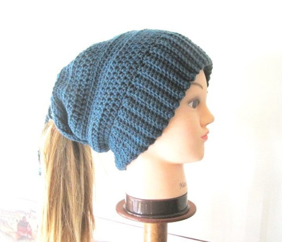 Ponytail Hat Pattern Fresh Crochet Ponytail Hat Pattern Slouchy Ponytail Beanie Pattern Of Wonderful 46 Pictures Ponytail Hat Pattern