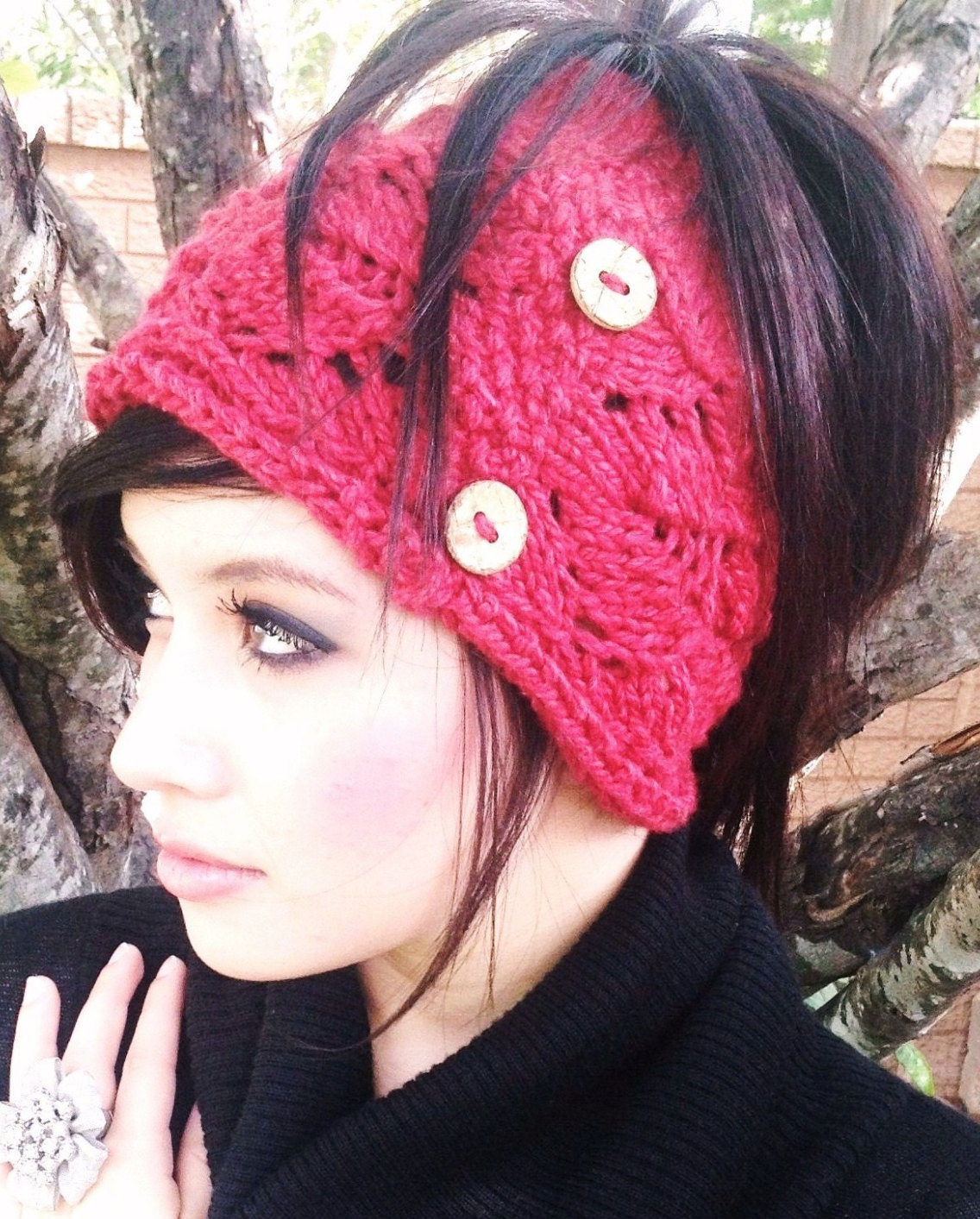 Messy Bun and Ponytail Hat Knitting Patterns