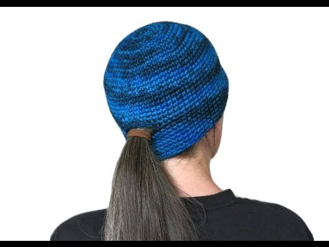 Ponytail Hat Pattern Inspirational Left Hand Ponytail Beanie Free Pattern Workshop Of Wonderful 46 Pictures Ponytail Hat Pattern