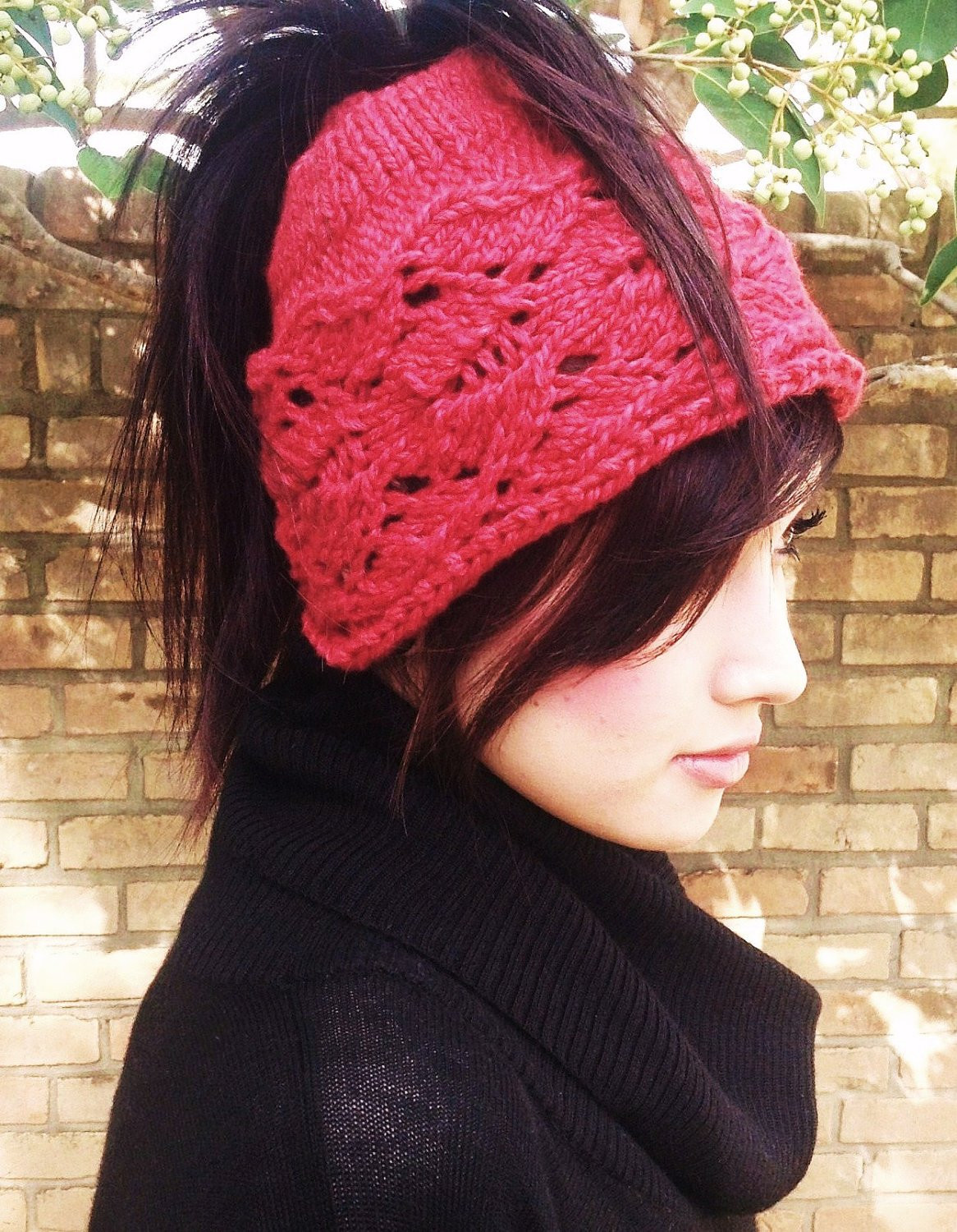 Ponytail Hat Pattern Unique Knitting Pattern Ponytail Hat Knit Hat Teens Women Cable Of Wonderful 46 Pictures Ponytail Hat Pattern