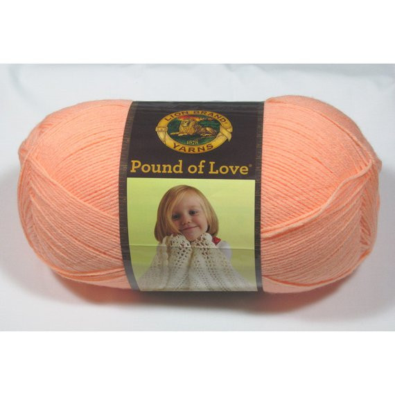 Pound Of Yarn Inspirational Lion Brand Pound Of Love Yarn Creamsicle 16 Oz Of Wonderful 44 Pics Pound Of Yarn