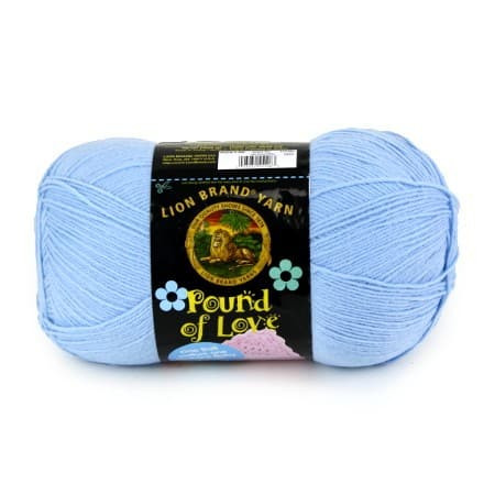 Pound Of Yarn New Lion Brand Pound Of Love Yarn Pastel Blue 1020 Yards Per Skein Of Wonderful 44 Pics Pound Of Yarn