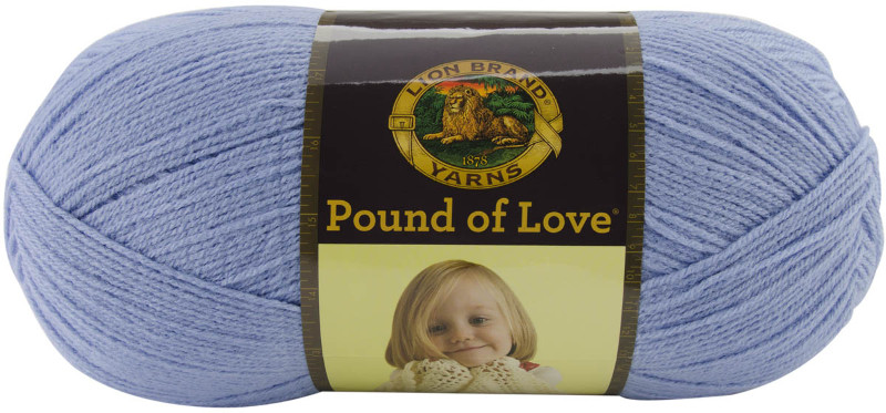 Pound Love Baby Yarn Bluebell Hobbies