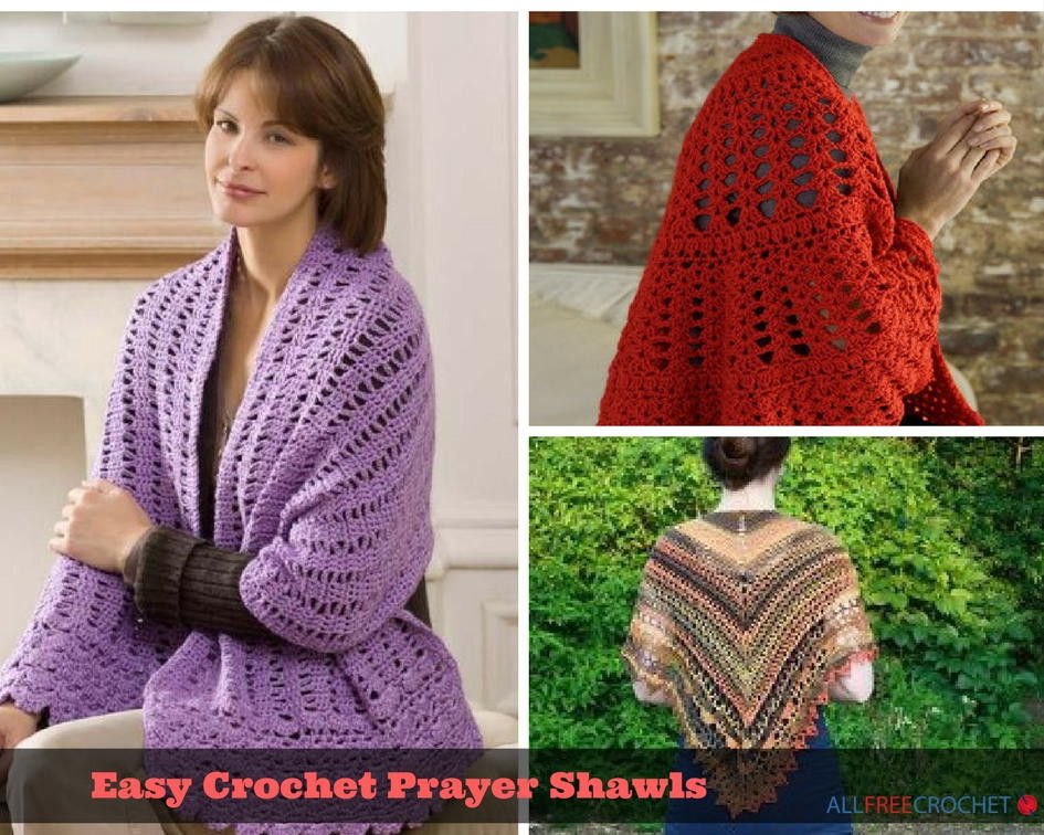 28 Easy Crochet Prayer Shawls