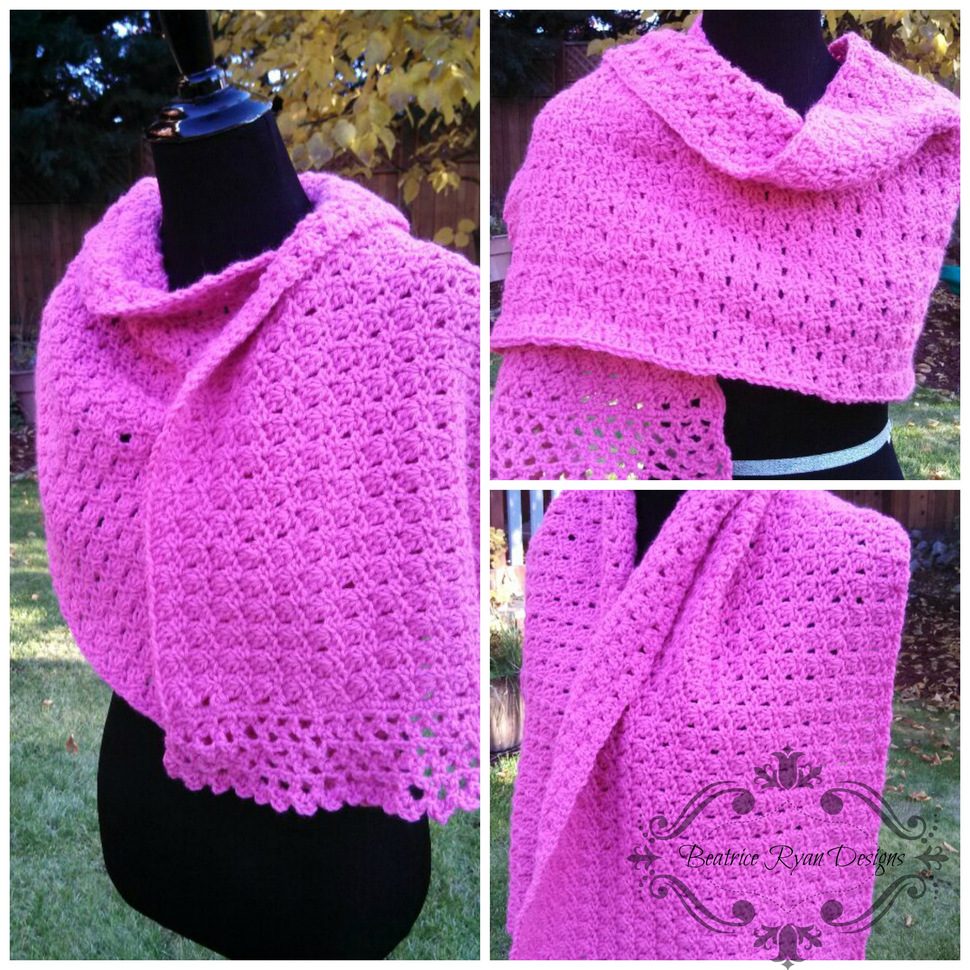 Amazing Grace Prayer Shawl Free Crochet Pattern