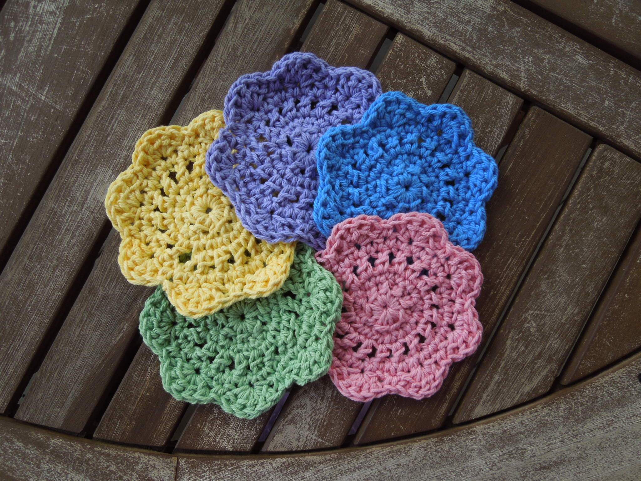 Quick and Easy Crochet Awesome Quick & Easy Coasters Free Crochet Pattern Of Incredible 48 Pics Quick and Easy Crochet