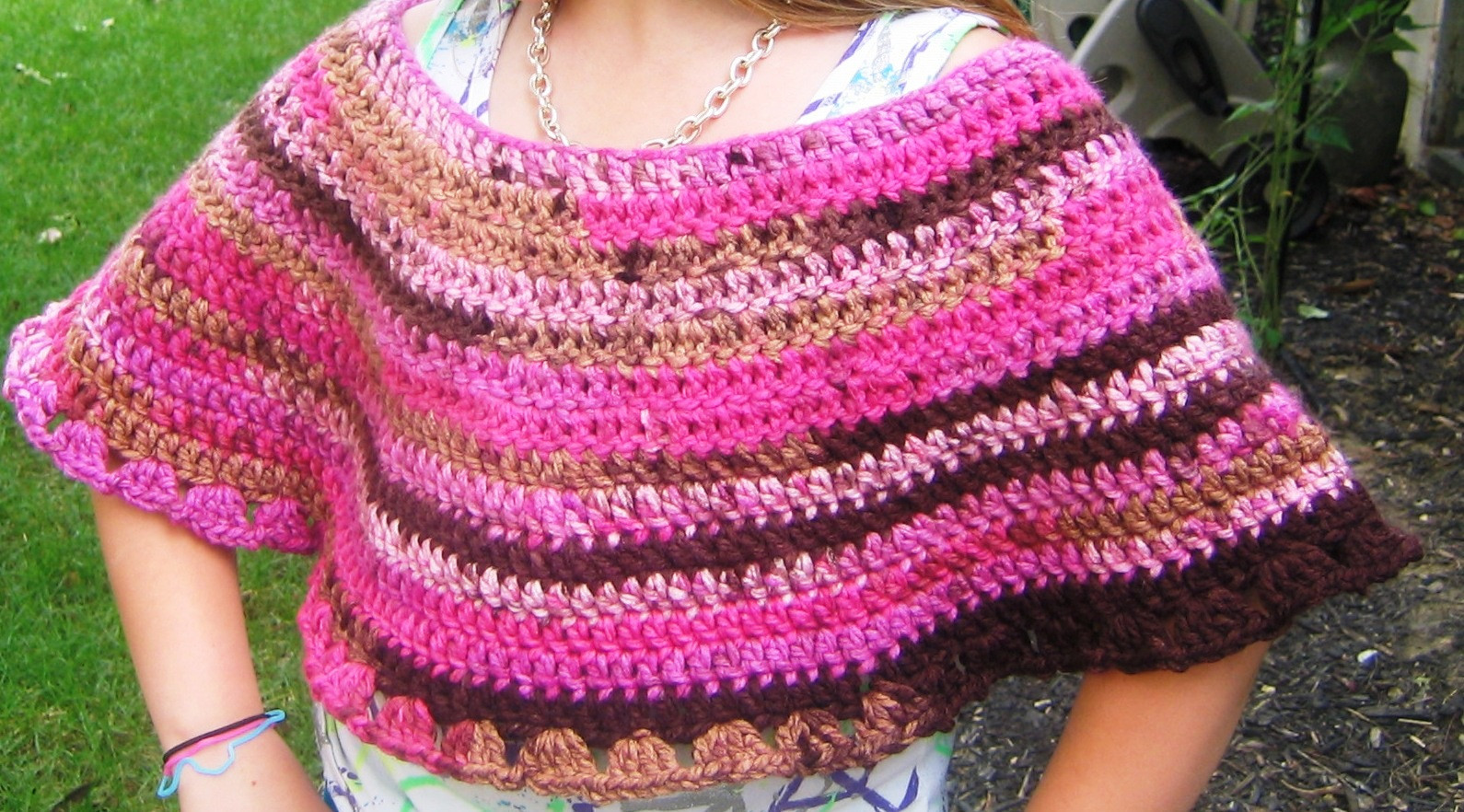 Quick and Easy Crochet Inspirational Handmade by Annabelle How to Crochet A Child S Poncho 8 Of Incredible 48 Pics Quick and Easy Crochet