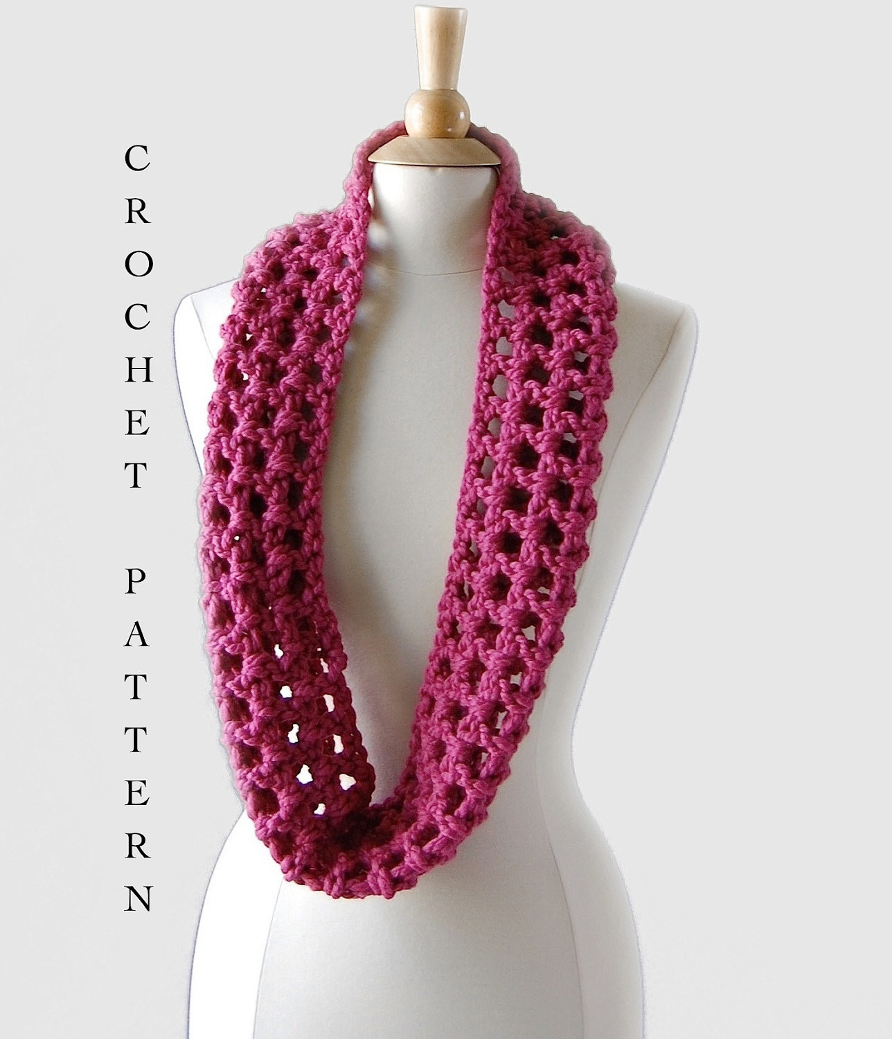 quick and easy crochet scarf pattern