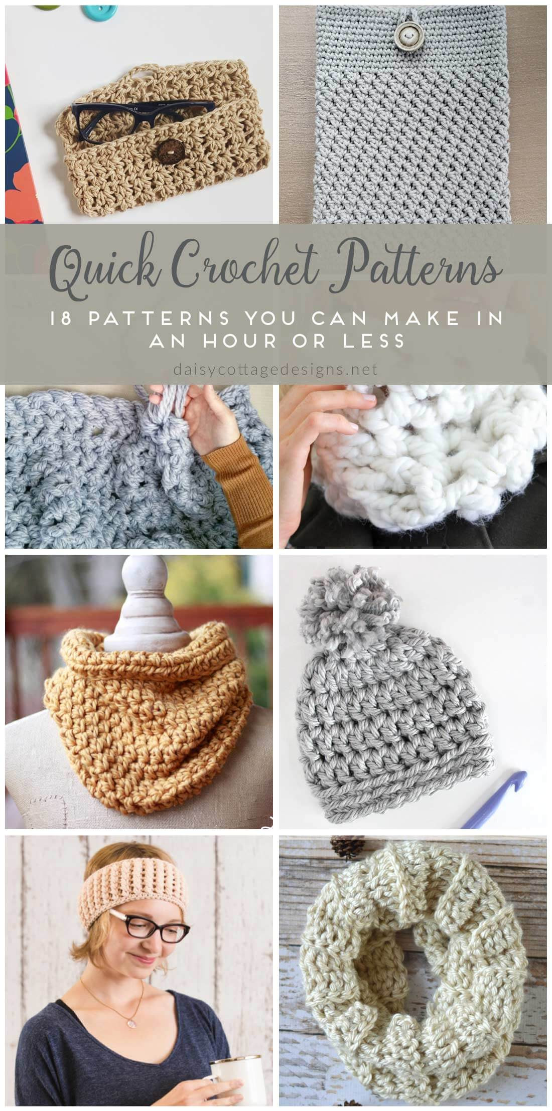 Quick and Easy Crochet Unique Easy Crochet Patterns Free Crochet Patterns On Daisy Of Incredible 48 Pics Quick and Easy Crochet