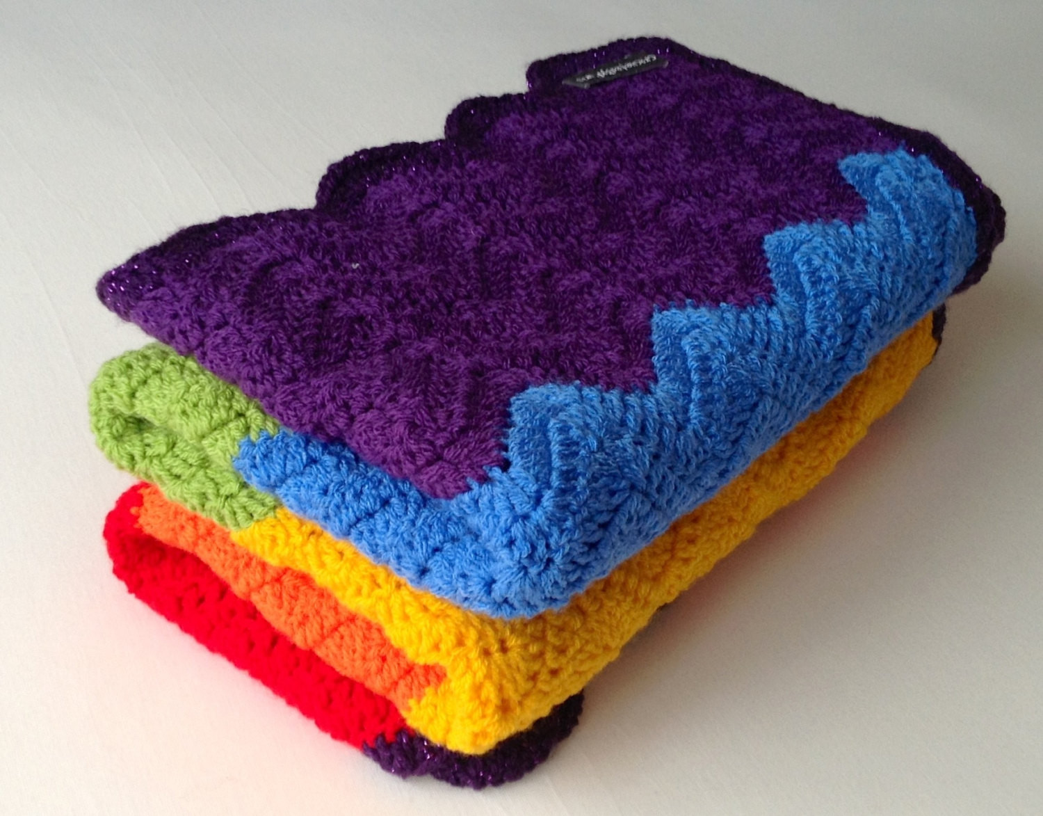 Rainbow Baby Blanket Awesome Crochet Rainbow Baby Blanket Pattern by Flavia Dancox for Of Charming 42 Ideas Rainbow Baby Blanket