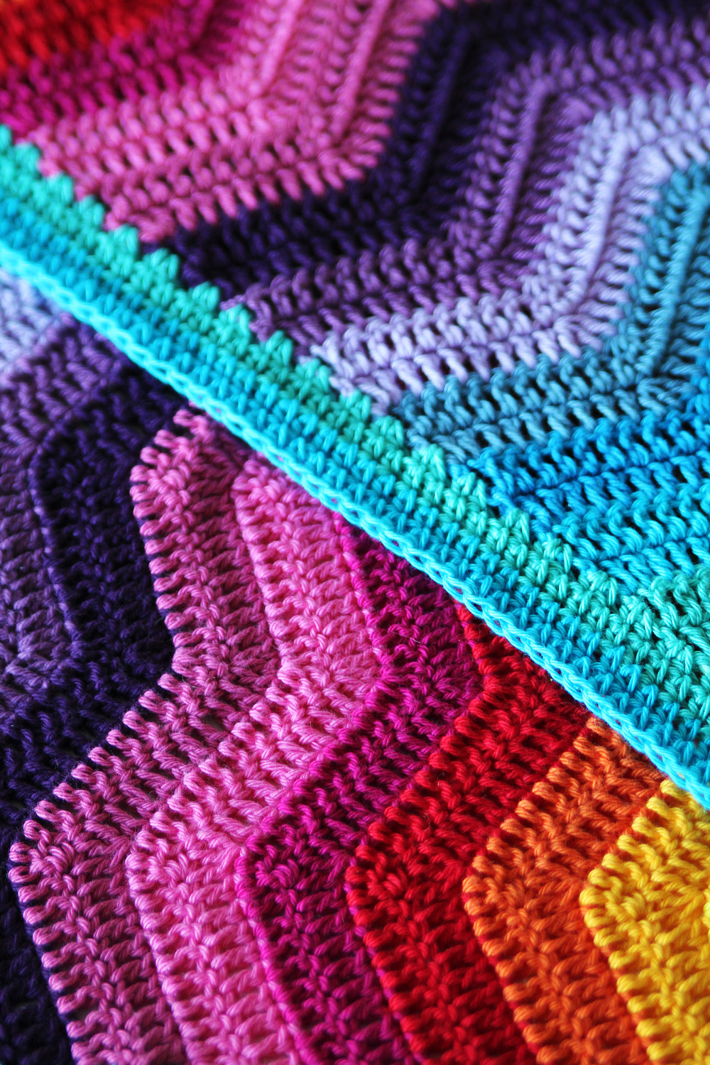 Rainbow Baby Blanket Beautiful New Crochet Pattern Rainbow Ripple Baby Blanket Of Charming 42 Ideas Rainbow Baby Blanket