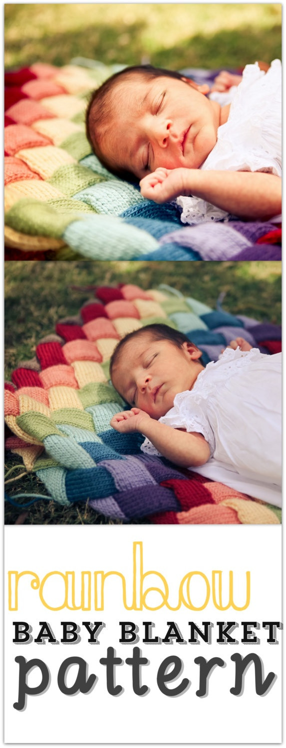 Rainbow Baby Blanket Best Of 17 Best Images About Entrelac Crochet & Knitting On Of Charming 42 Ideas Rainbow Baby Blanket