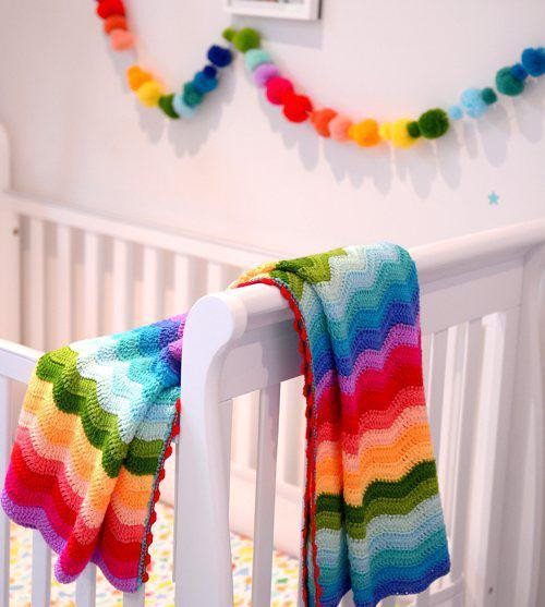Rainbow Baby Blanket Best Of O B Designs Rainbow Ripple Baby Blanket Of Charming 42 Ideas Rainbow Baby Blanket