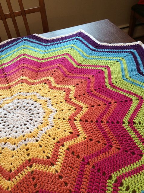 Rainbow Baby Blanket Crochet Pattern Best Of Ravelry Project Gallery for Rainbow Ripple Baby Blanket Of Attractive 46 Models Rainbow Baby Blanket Crochet Pattern