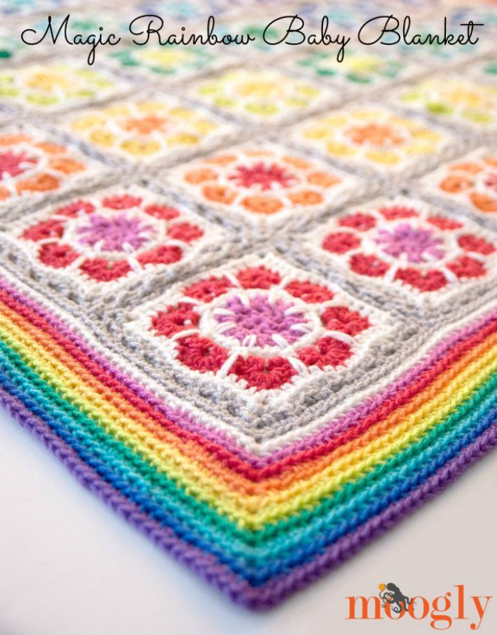 Rainbow Baby Blanket Crochet Pattern Unique 30 Creative and Amazing Crochet Rainbow Patterns• Diy & Crafts Of Attractive 46 Models Rainbow Baby Blanket Crochet Pattern