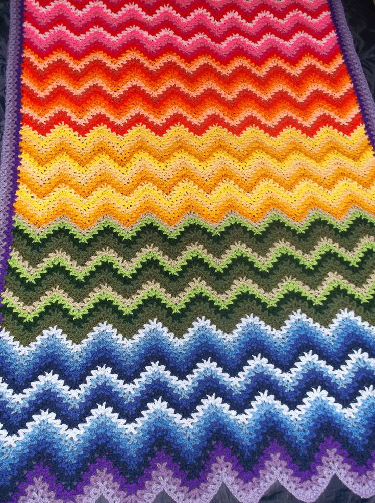Rainbow Baby Blanket Elegant Crochet Rainbow Baby Blanket Pattern by Flavia Dancox for Of Charming 42 Ideas Rainbow Baby Blanket