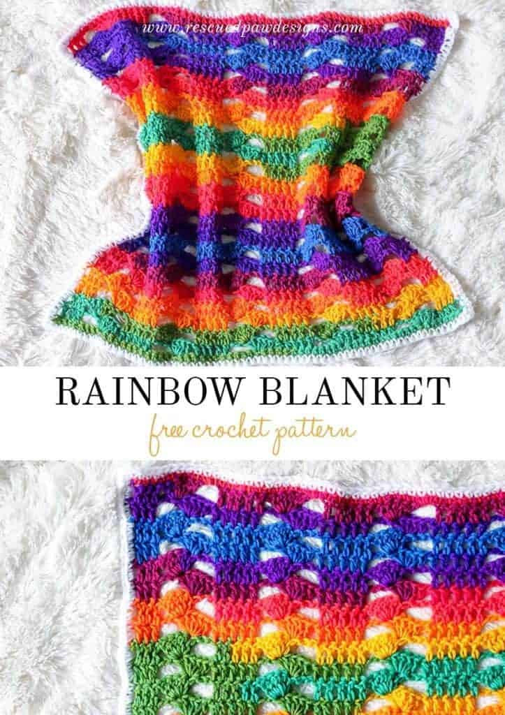 Rainbow Baby Blanket Elegant Rainbow Crochet Blanket Crochet Rainbow Baby Blanket Of Charming 42 Ideas Rainbow Baby Blanket