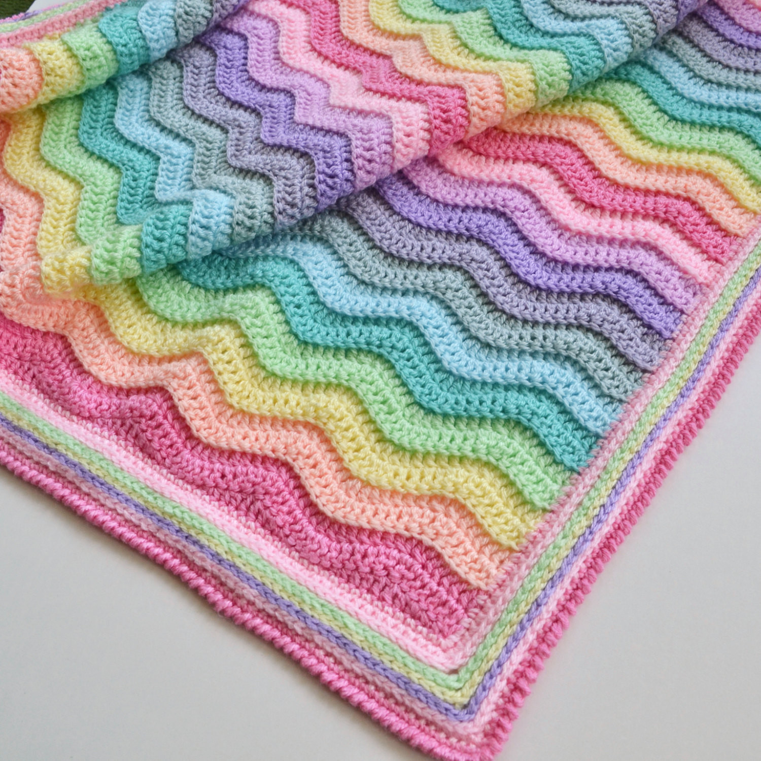 Rainbow Baby Blanket New Crochet Ripple Blanket Rainbow Blanket Afghan Baby Of Charming 42 Ideas Rainbow Baby Blanket