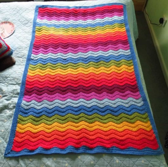 Rainbow Baby Blanket New Free Crochet Rainbow Baby Blanket Pattern Dancox for Of Charming 42 Ideas Rainbow Baby Blanket