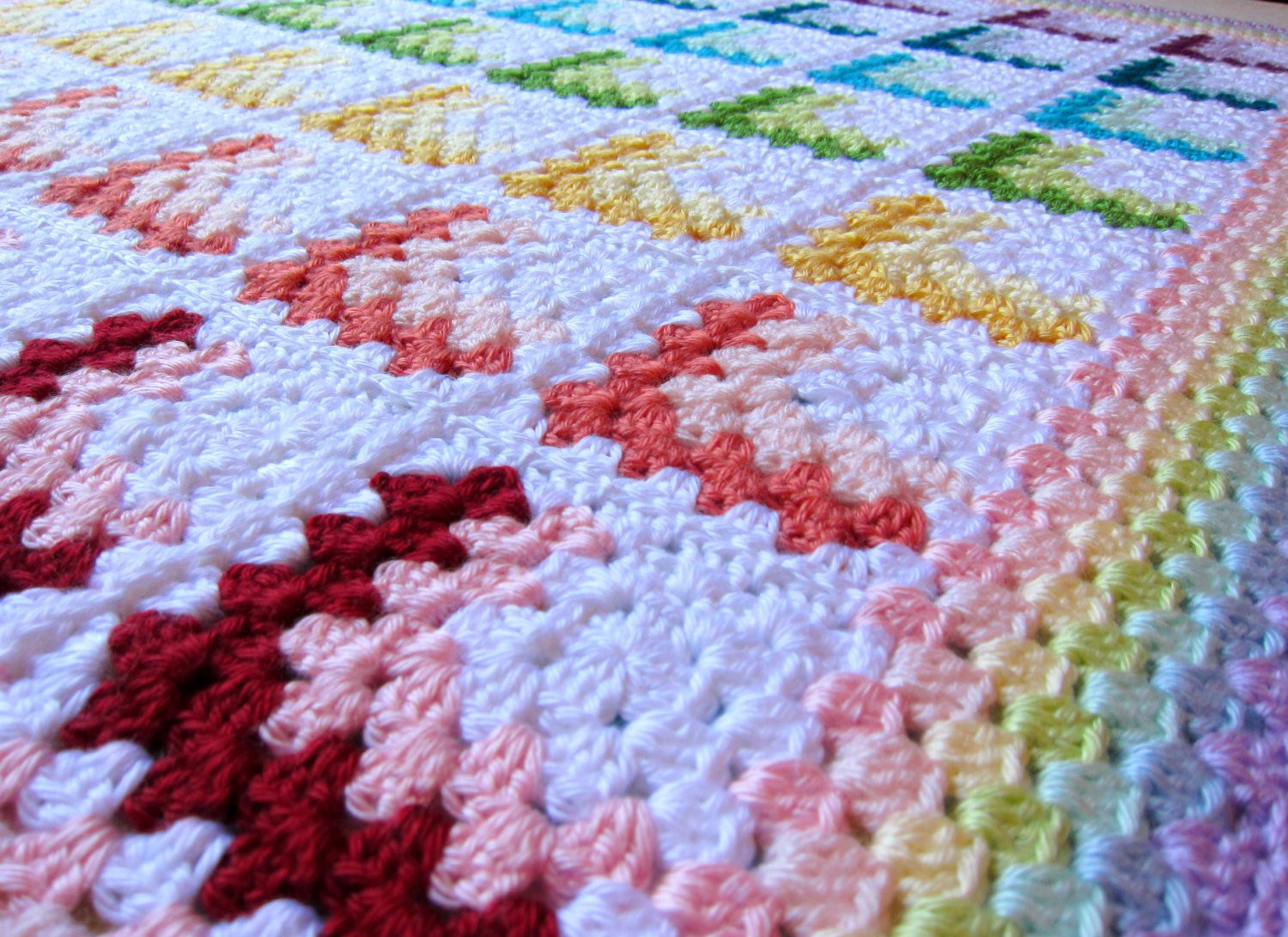 Rainbow Baby Blanket Unique Rainbow Baby Blanket Pastel Rainbows Baby Blanket Crochet Of Charming 42 Ideas Rainbow Baby Blanket