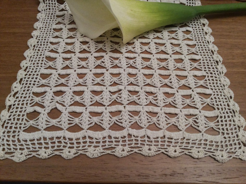 Rectangular Doilies Best Of Vintage Crochet Doily Cream Table topper Large by Of Attractive 40 Models Rectangular Doilies