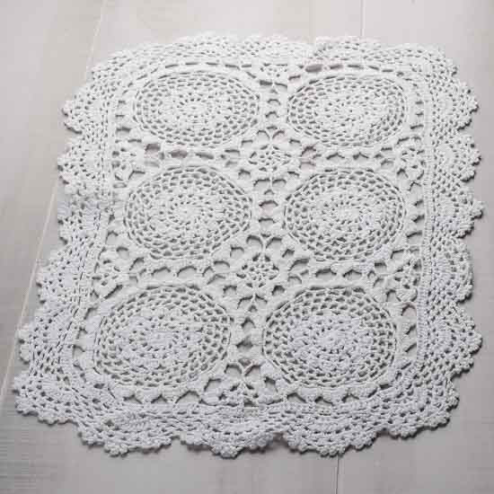 Rectangular Doilies Fresh Oblong White Crocheted Doily Crochet and Lace Doilies Of Attractive 40 Models Rectangular Doilies