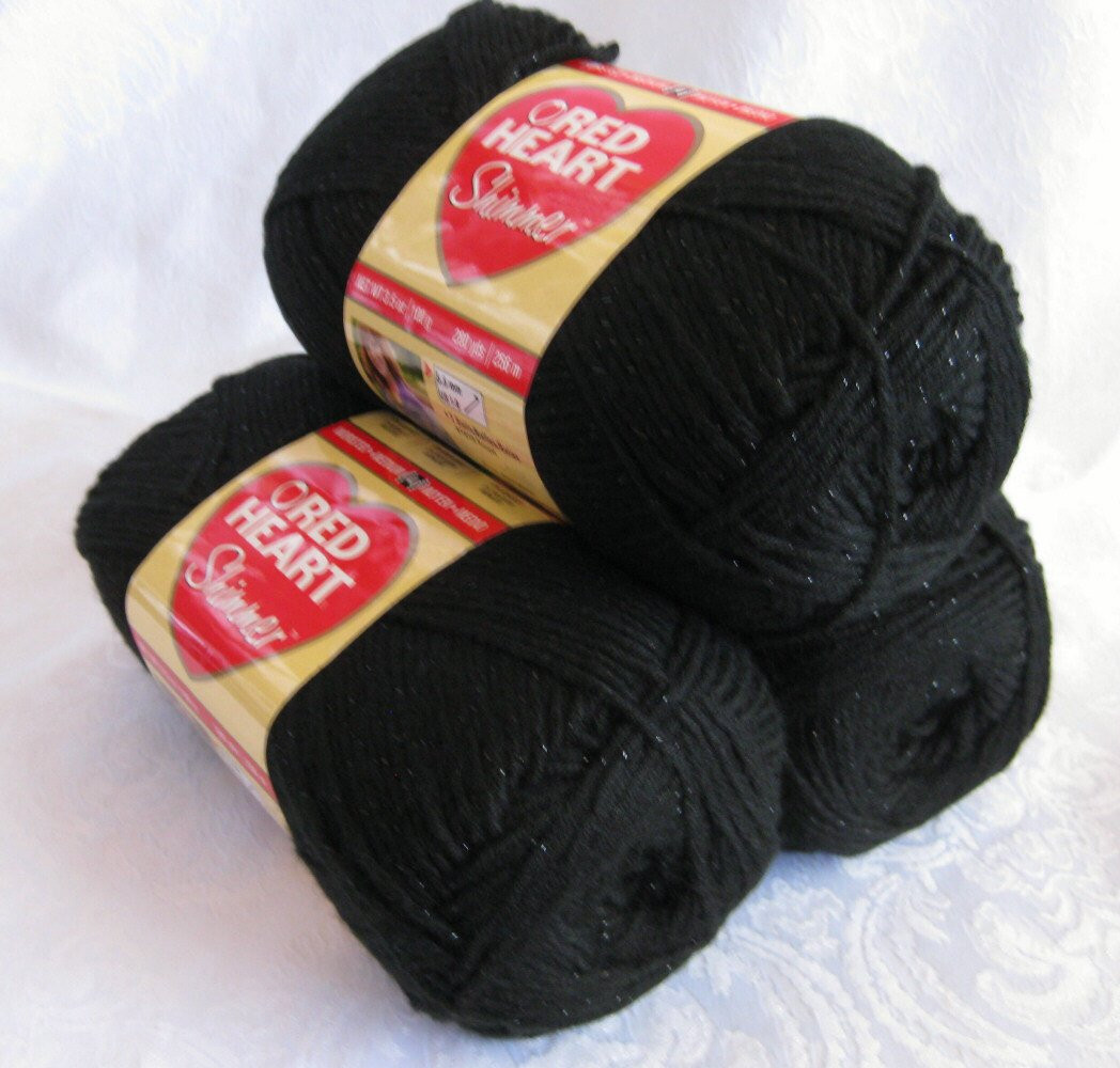 Red and Black Yarn Beautiful Black Red Heart Shimmer Yarn Black with Black by Crochetgal Of Lovely 45 Images Red and Black Yarn